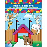 Do - A- Dot Creative Art Book - Who's In The Zoo? B-371