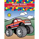 Do - A- Dot Creative Art Book -Mighty Trucks - B-375