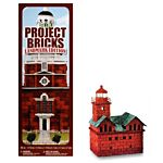 FloraCraft Styrofoam Kits, Make It Fun Project Bricks Sand Red Shades Color