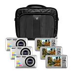 Classroom Camera Explorer Kit, Six 12MP Digital Cameras With Flash And 2.7