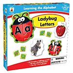 Ladybug Letters, Learning the Alphabet puzzles, CD-140086