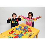 Ready2Learn™ Lacing Letters, Uppercase, CE-6904