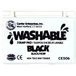 Center Enterprise, Washable Stamp Pads, Black , CE506