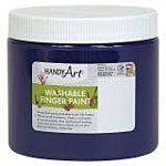 Handy Art Washable Finger Paint 16 oz. Violet - HAN241040