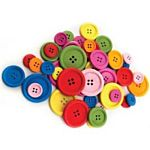 Hygloss 5508 Buttons 8 oz Bag