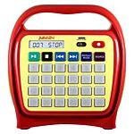 Kids Juke24 - Juke24 - Portable, Digital Jukebox With CD Player And Karaoke Function - Red/Yellow