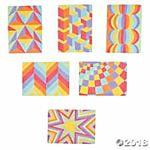 Peel & Stick Sand Art Kit - Optical Illusion - 24 Projects