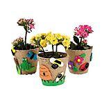 Papier-Mâché Garden Pot Craft Kit - 12 Project Pack