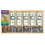 Melissa & Doug Play Money Set - Educational Toy With Paper Bills and Plastic Coins