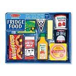 Fridge Food Wooden Play Food Set (9 pcs)
