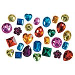 Darice Rhinestones - Assorted Colors and Shapes - 1lb