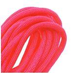 Paracord 550 / Nylon Parachute Cord 4mm - Neon Pink (16 Feet/4.8 Meters)