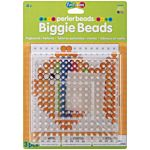 Perler Beads Clear Large Square Biggie Bead Pegboard 2 Pack 70712
