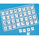 Store and organize all your alphabet letters container, PC-7400