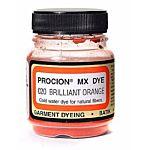 Jacquard Procion Mx Dye, 2/3-Ounce, Brilliant Orange