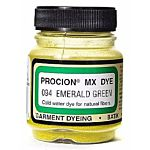 Jacquard Procion Mx Dye, 2/3-Ounce, Emerald Green