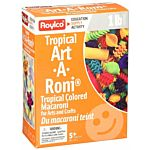 Roylco Tropical Colored Assorted Noodles 1LB.  R2113