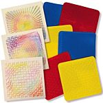Roylco Optical Illusion Rubbing Plates R5841