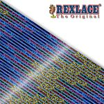 Pepperell Rexlace Britelace & Tie Dye Plastic Lacing Spool , Blue