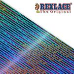 Pepperell Rexlace Britelace & Tie Dye Plastic Lacing Spool