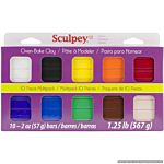 Sculpey III Multipack - Classic Collection - 10/SET