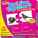 Fun-to-Know Puzzles, What Goes Together, T-36005