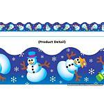 Trend Enterprises Shiny Winter Fun Terrific Trimmers  (T-91406)