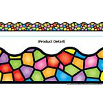 Trend Enterprises  Stained Glass Terrific Trimmers  (T-92136)