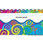 Trend Enterprises Rainbow Swirls Terrific Trimmers  (T-92141)