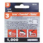 Surebonder Light Duty 5/16-Inch , Arrow JT21 Type, 5580, 1000 Count 55116