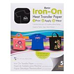 Darice Crafts Dark Fabric Transfer Inkjet Paper 8 x 11 inches 5 sheets