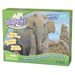 Shape It Sand White, 5 Lb Box