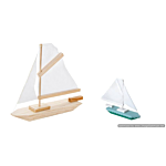 Darice Wood Model Kit - Sailboat - 7 x 6 inches (9169-04)