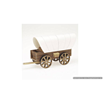 Darice Wood Model Kit - Covered Wagon - 8.5 x 4.5 inches (9181-24)