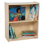 WoodDesigns, Children Small Bookcase, Natural wood Color, 28
