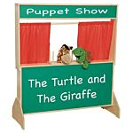 Wood Designs, Children Play, Deluxe Puppet Theater with Chalkboard