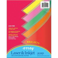 Riverside Paper 01105 Array Assorted Bright Colored Bond Paper, 8-1/2 x 11, 20-lb., 500 Sheets/ream