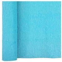 Denne Crepe Folds, 20 x 7.5-Feet, Ice Blue