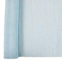 Denne Crepe Folds, 20 x 7.5-Feet, Sapphire Blue