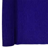 Denne Crepe Folds, 20 x 7.5-Feet, Midnight Blue
