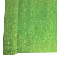 Denne Crepe Folds, 20 x 7.5-Feet, Apple Green
