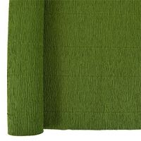 Denne Crepe Folds, 20 x 7.5-Feet, Holiday Green