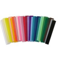 Denne Crepe Folds, 20 x 7.5-Feet, Assorted Colors 12/pack