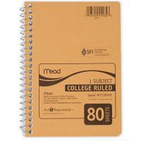 Mead Spiral Personal Notebook 6