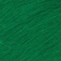 Long Pile Craft Fur - Kelly Green - 9 x 12 inches