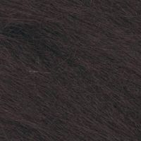 Long Pile Craft Fur - Dark Brown - 9 x 12 inches