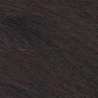 Long Pile Craft Fur - Dark Brown - 9 x 12 inches