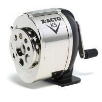 X-ACTO KS Manual Pencil Sharpener, Metal Finish , 1031