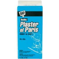 Dap Plaster of Paris Box Molding Material, 4.4-Pound, White