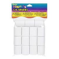 Darice 15-Piece Foam Marshmallow Shapes